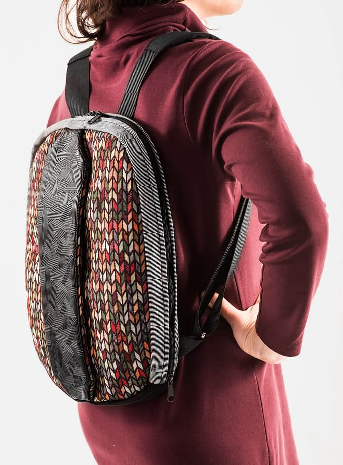 mochila de computador vegan portuguesa conversível em bolsa