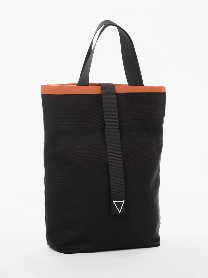 sustainable tote bag convertible to handbag