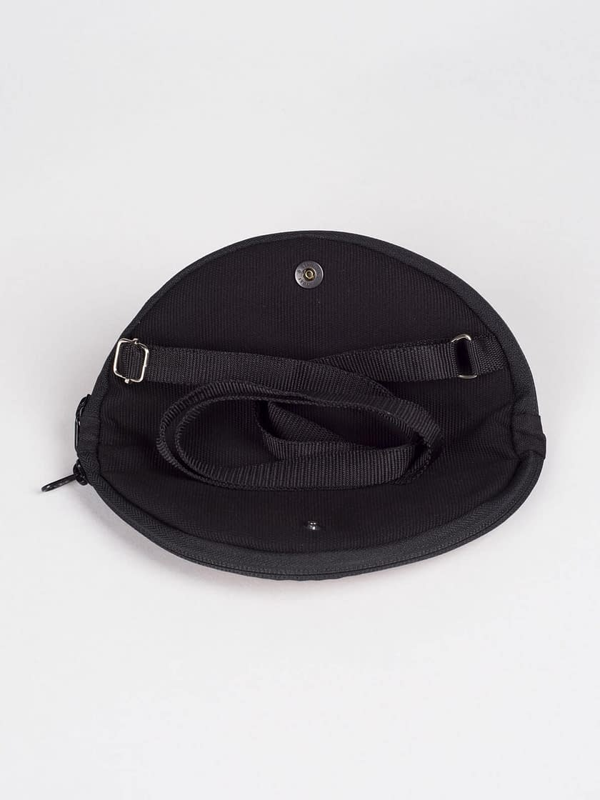 birdwalk wallet fold to mini round bag