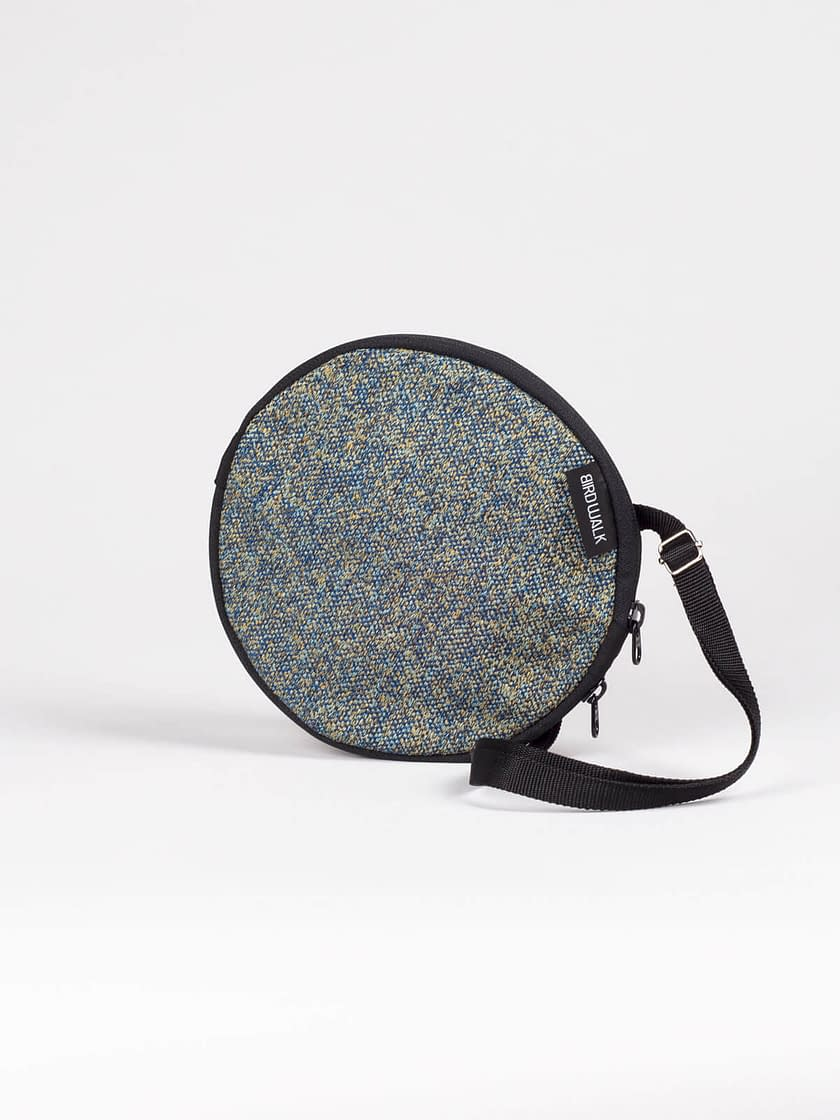 round bag convertible to wallet made in portugal