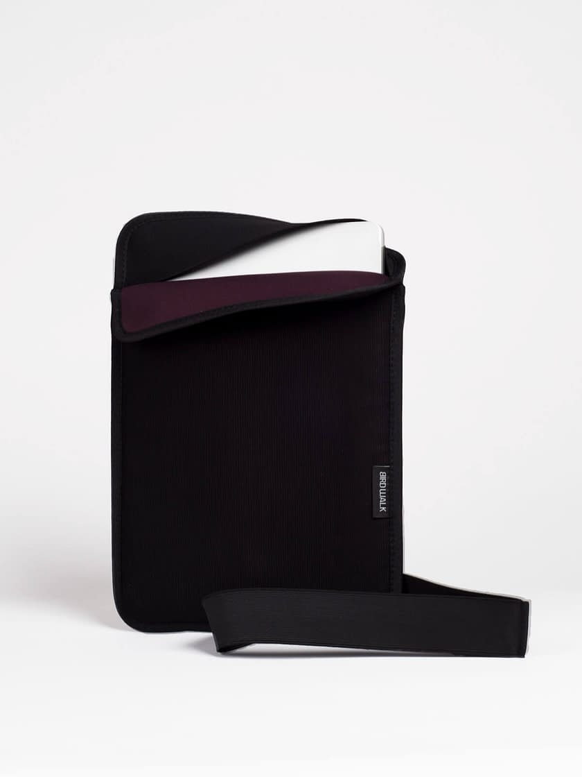 capa para portátil 13 polegadas preta